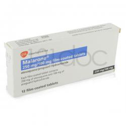 Malarone 100mg/250mg x 36